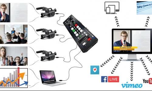 dịch vụ livestream hội thảo trực tuyến