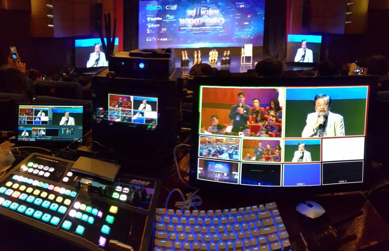 livestream trực tiếp sự kiện